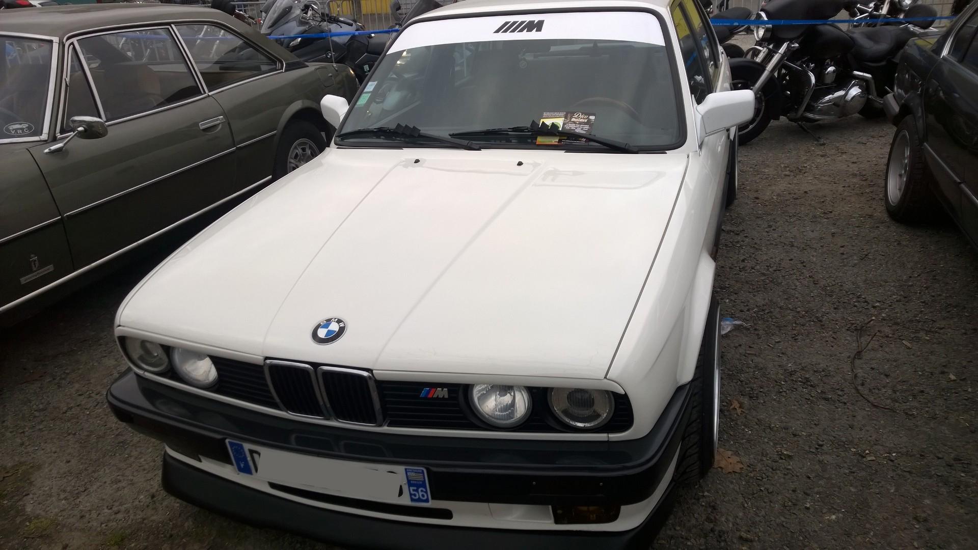 DM - photo - BMW M3 - arriere / rear - Ouest Motors Festival 2015 Lorient