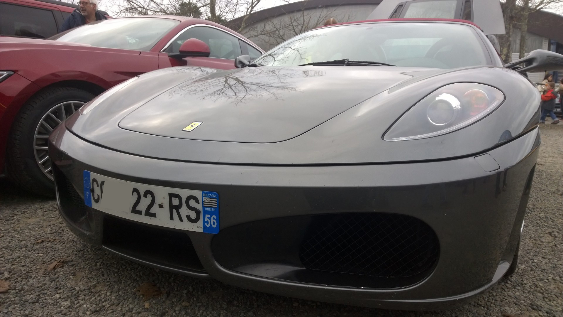 DM photo - Ferrari F430 Spider - avant / front - Ouest Motors Festival - 2015 - Lorient