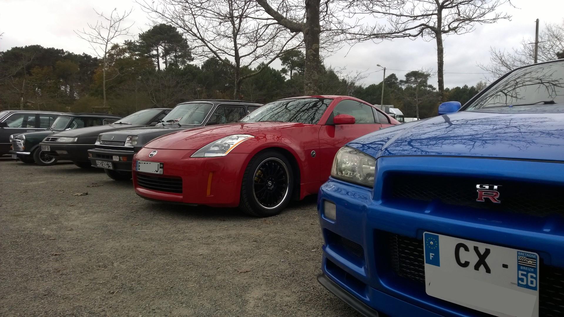 DM - photo - Nissan-GT-R V spec - Nissan Z - Ouest Motors Festival 2015 Lorient