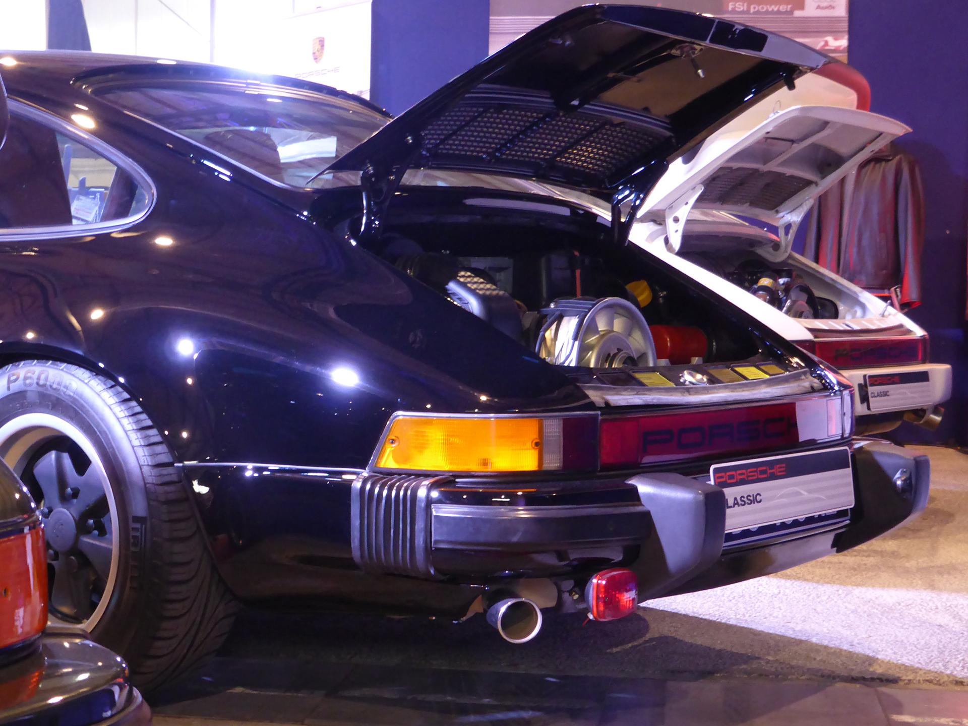 DM - photo - Porsche classic - rear /arrière - Ouest Motors Festival 2015