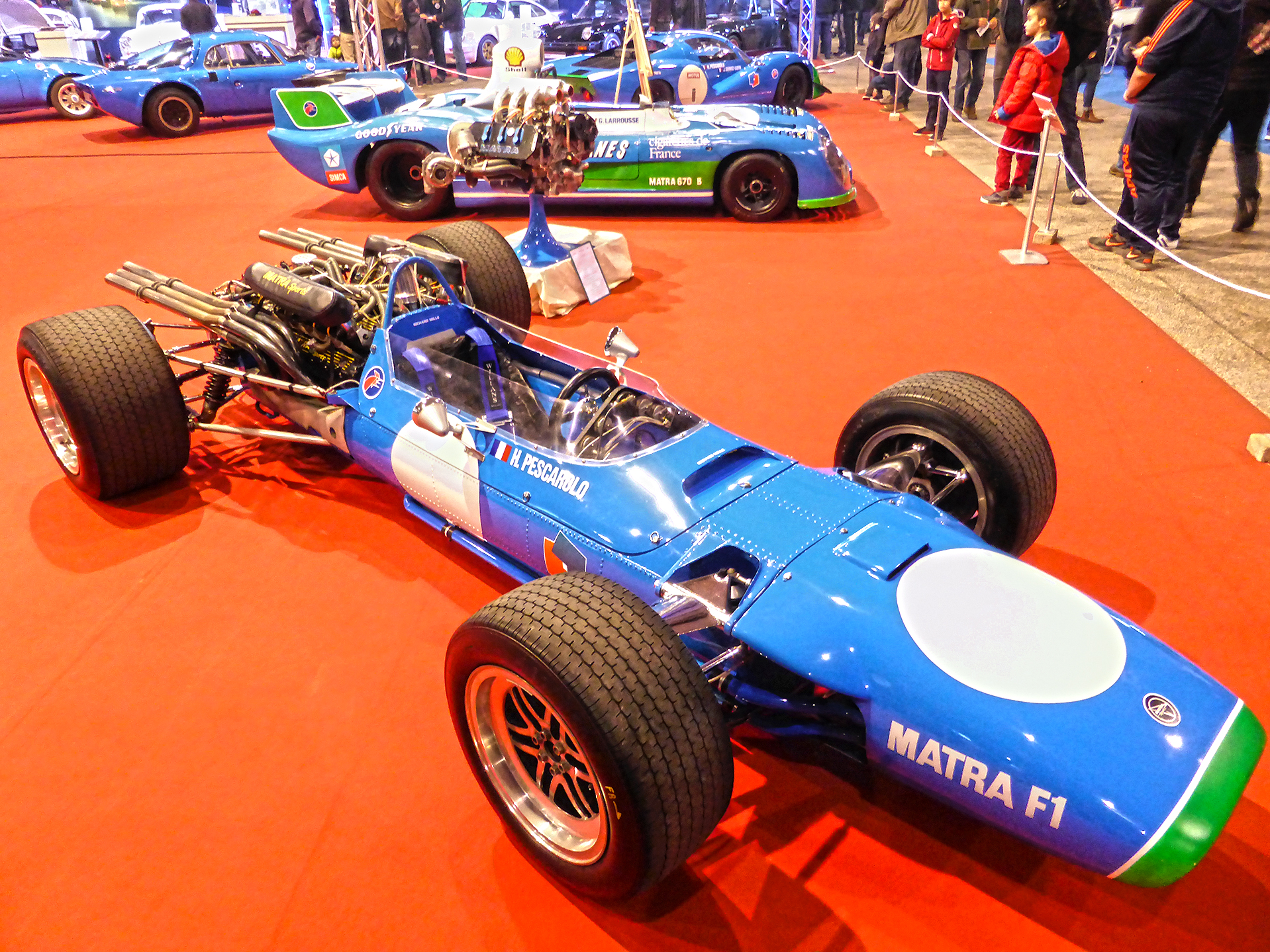 DM - photo - Matra Sport - F1 - Ouest Motors Festival 2015