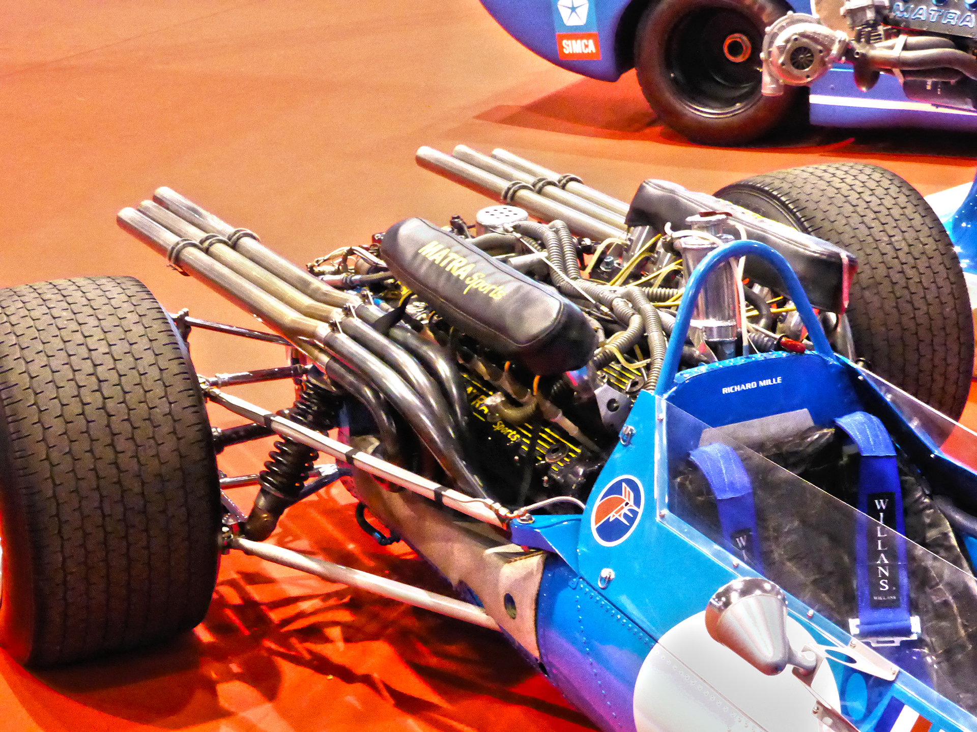 DM - photo - Matra Sport - F1 - rear / arrière - Ouest Motors Festival 2015