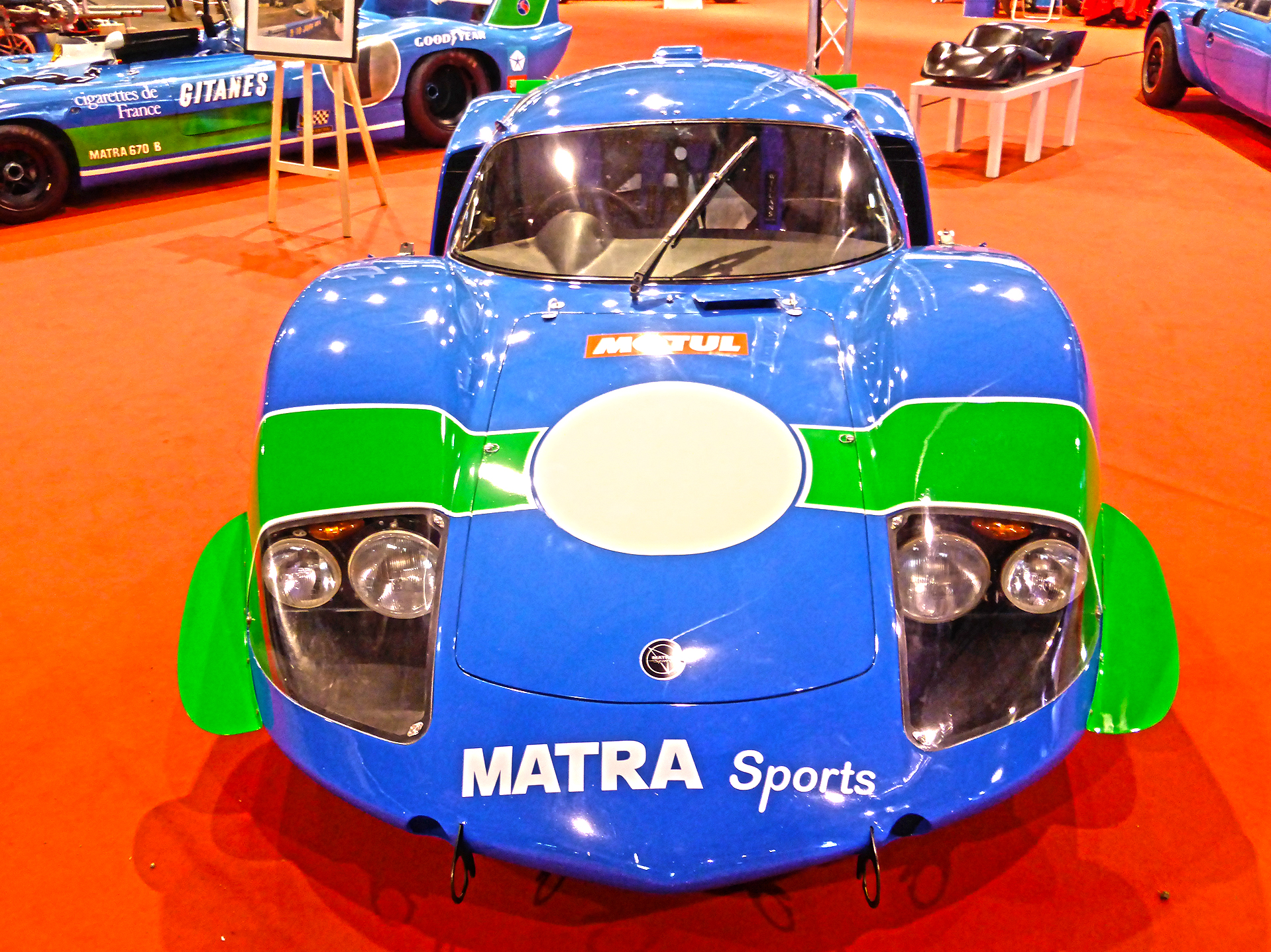 DM - photo - Matra Sport - auto - Ouest Motors Festival 2015