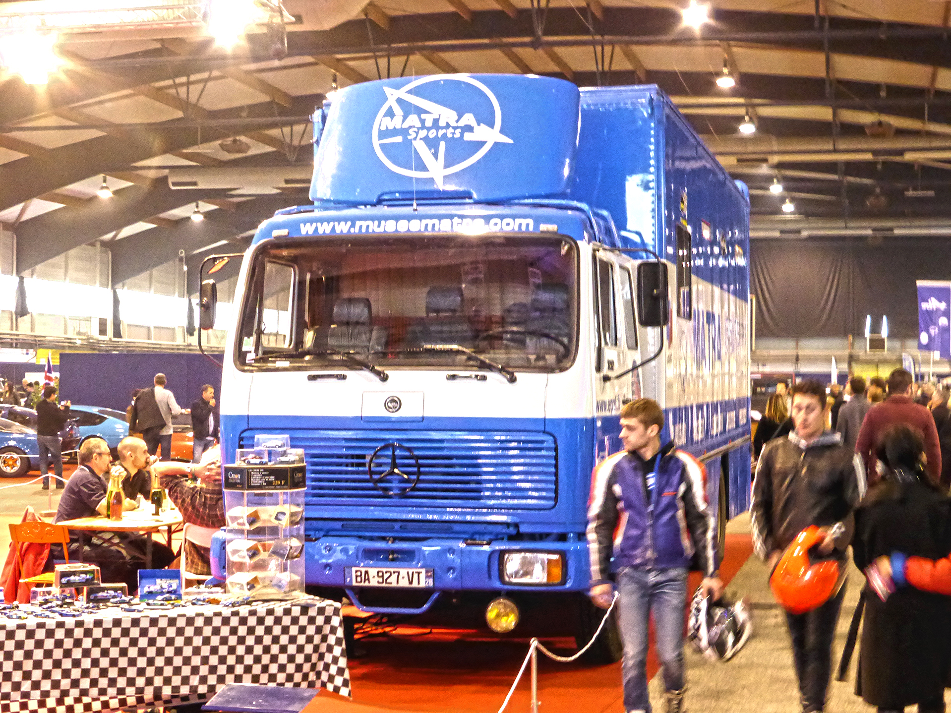 DM - photo - Matra Sport - Camion team / team Truck - Ouest Motors Festival 2015