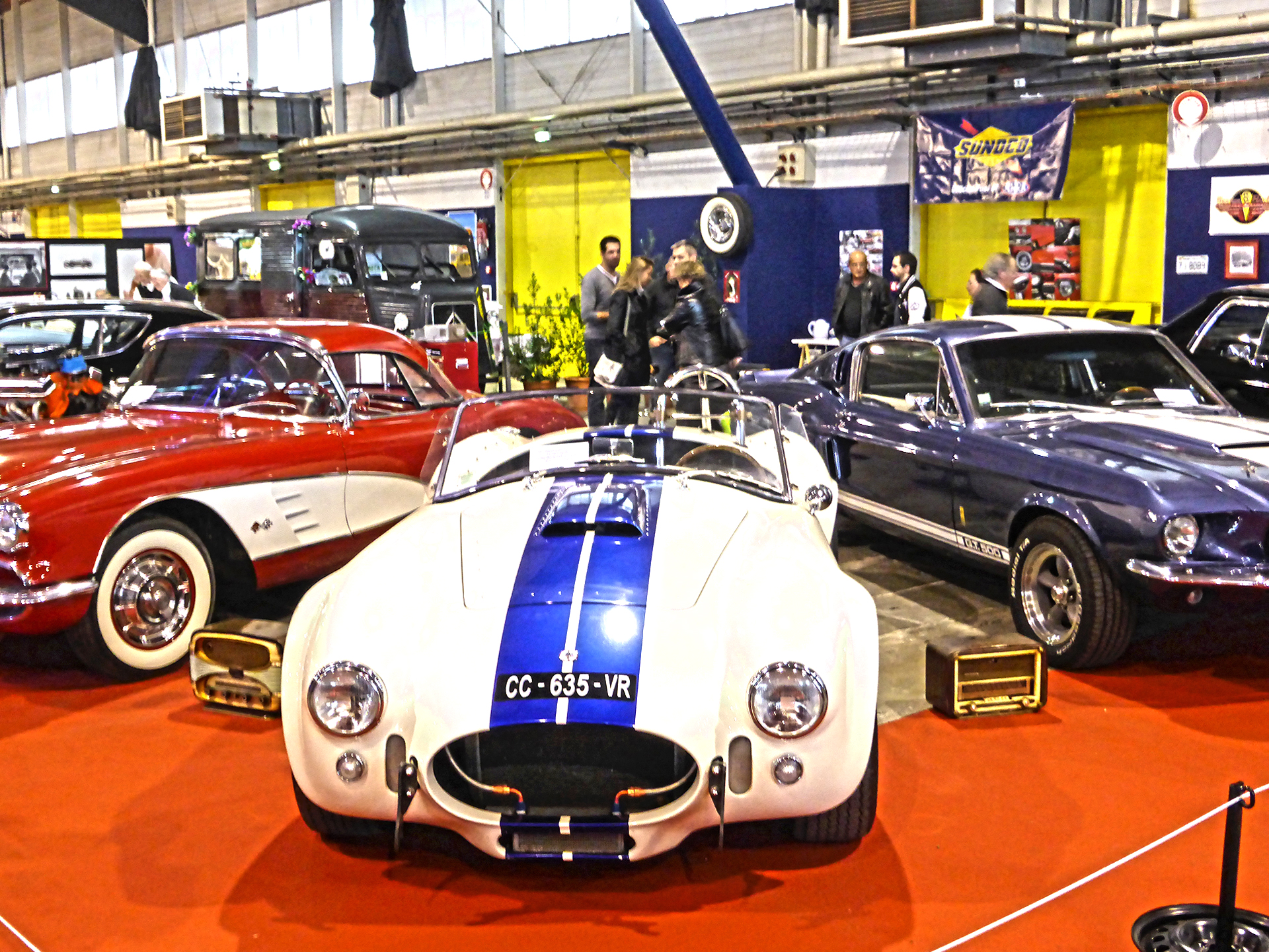 DM - photo - Shelby AC Cobra - Ouest Motors Festival 2015