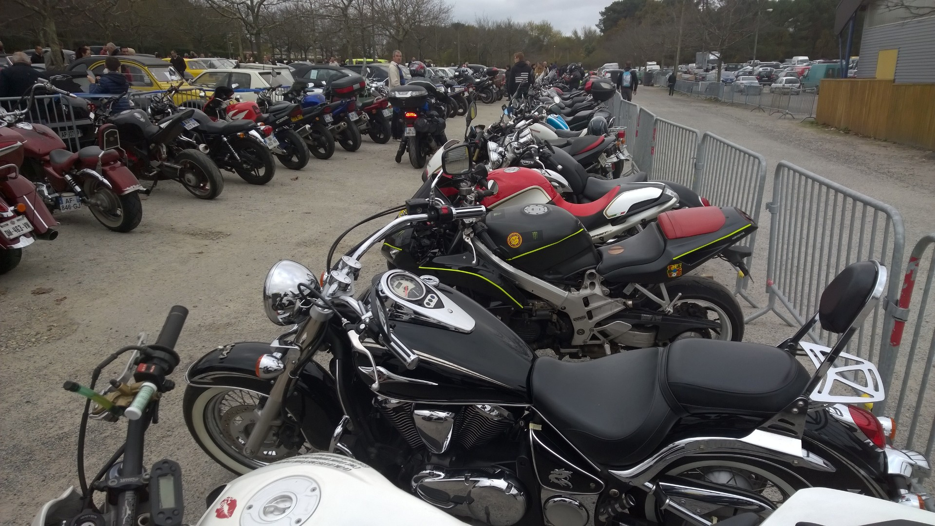 DM photo - plein de motos - Ouest Motors Festival - 2015 - Lorient