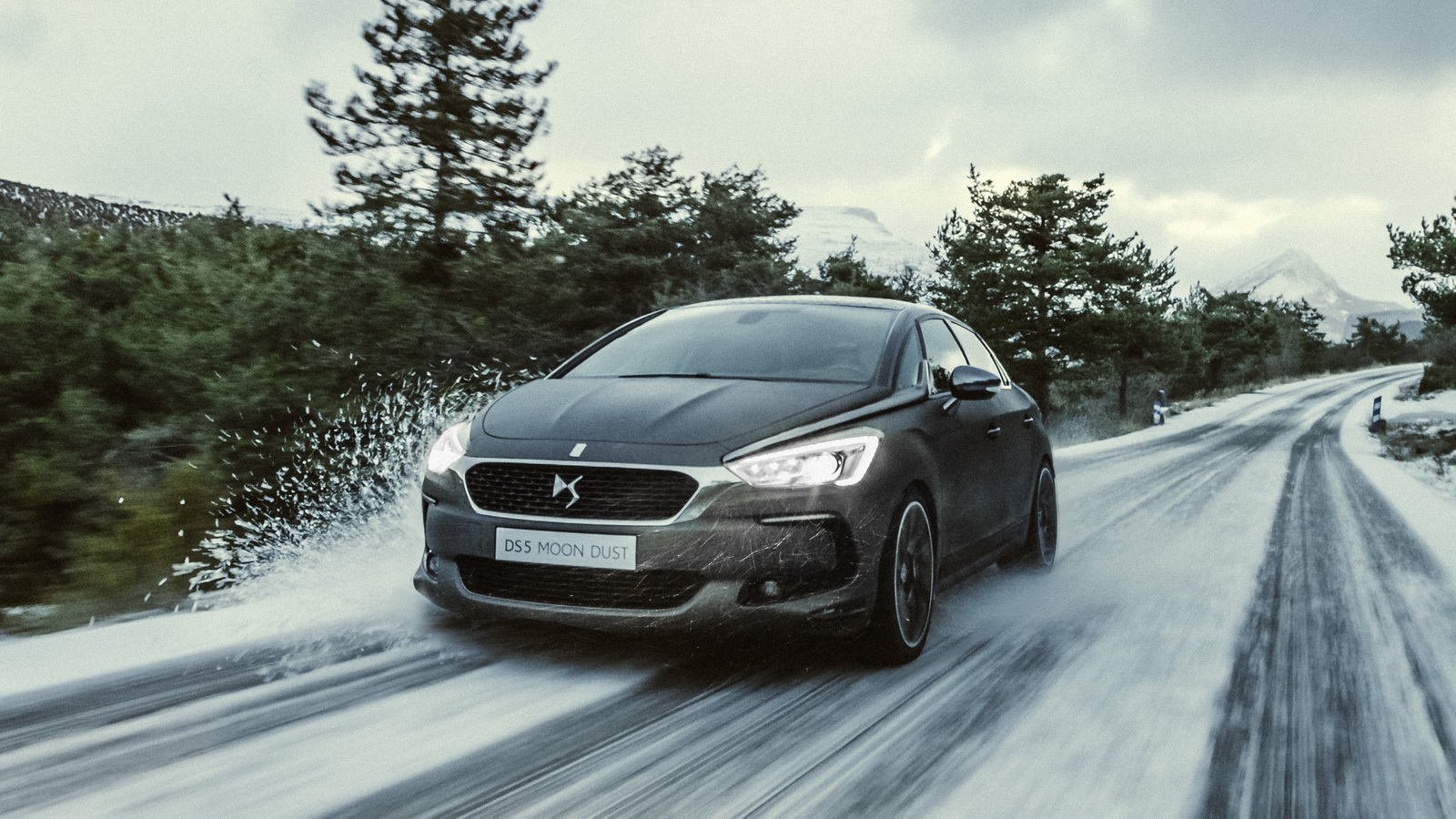 DS 5 Moon Dust - DS Automobiles