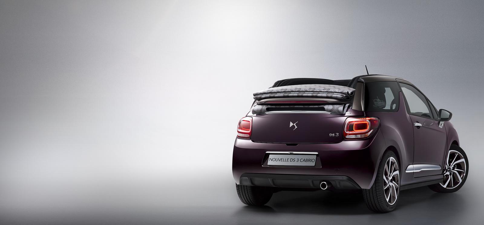 DS Automobiles - 2016 - Nouvelle DS 3 Cabrio