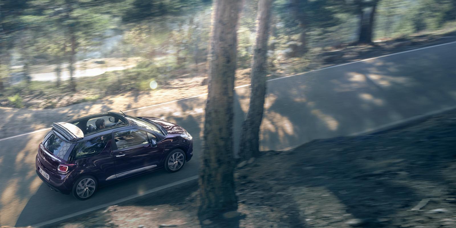 DS Automobiles - 2016 - Nouvelle DS 3 Cabrio - photo sur route