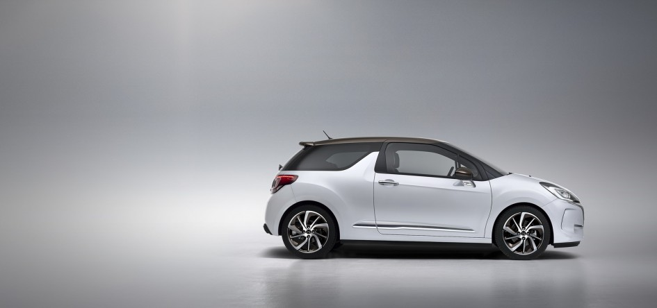 DS Automobiles - 2016 - Nouvelle DS 3 - profil / side-face