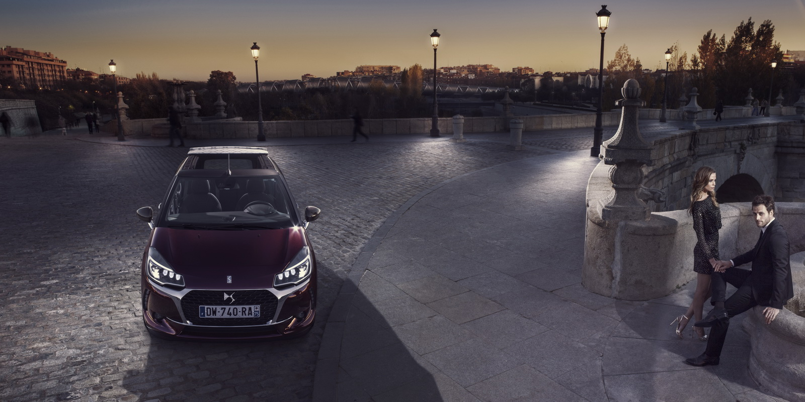 DS Automobiles - 2016 - Nouvelle DS 3 Cabrio - photo - belle soirée / good evening
