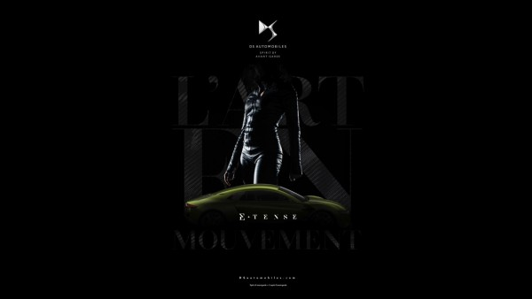 Artwork DSMasterpiece - DS Automobiles - E-Tense - teaser cover
