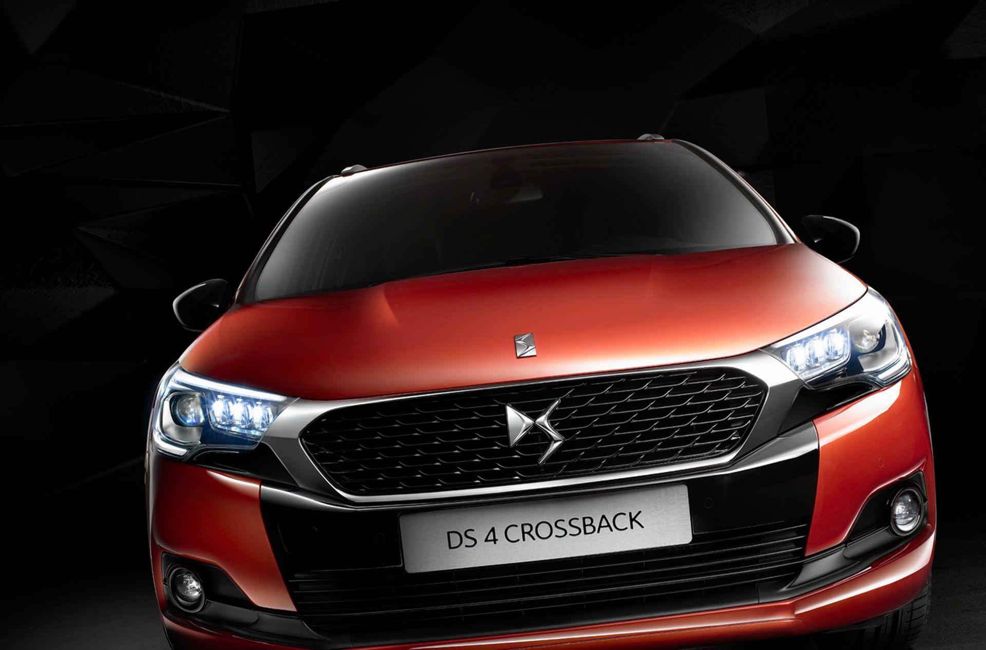 Crossback DS 4 - DS Automobiles - 2015 - avant / front