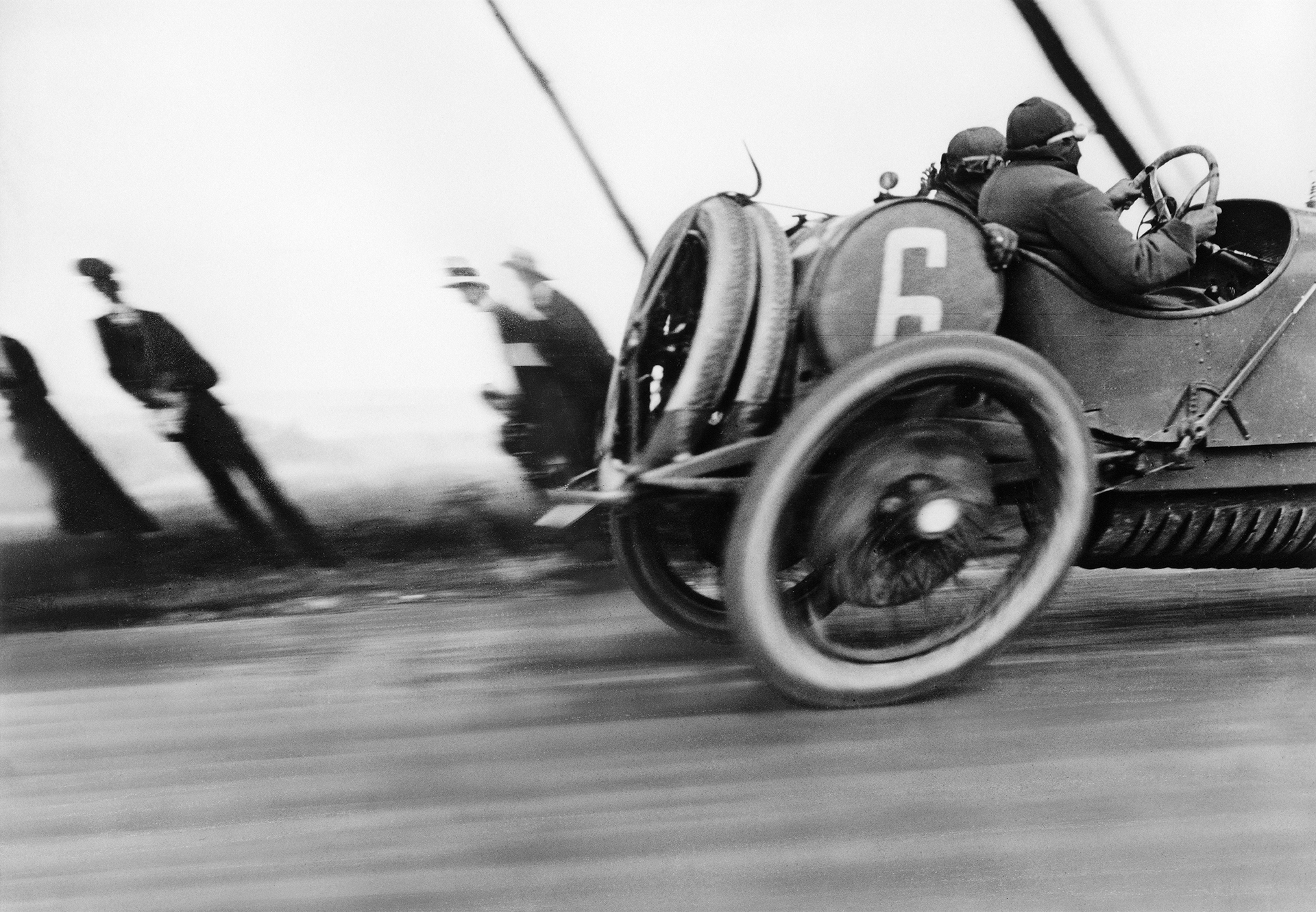 Automobile Delage. Circuit de Dieppe, Grand Prix de l'ACF, Le Tréport, 1912 Photo Lartigue - Droits d'auteur : Ministère de la Culture-France/AAJHL