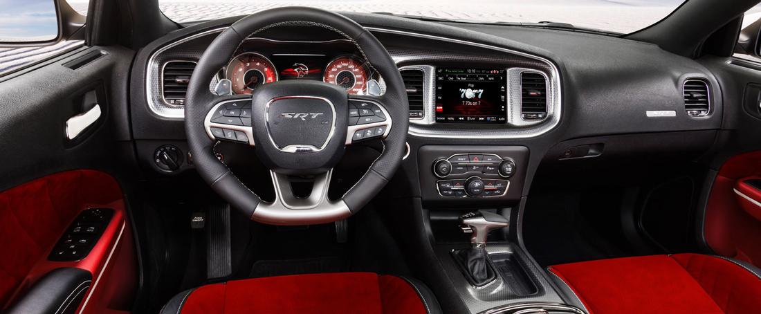 Dodge Charger-SRT Hellcat - Intérieur