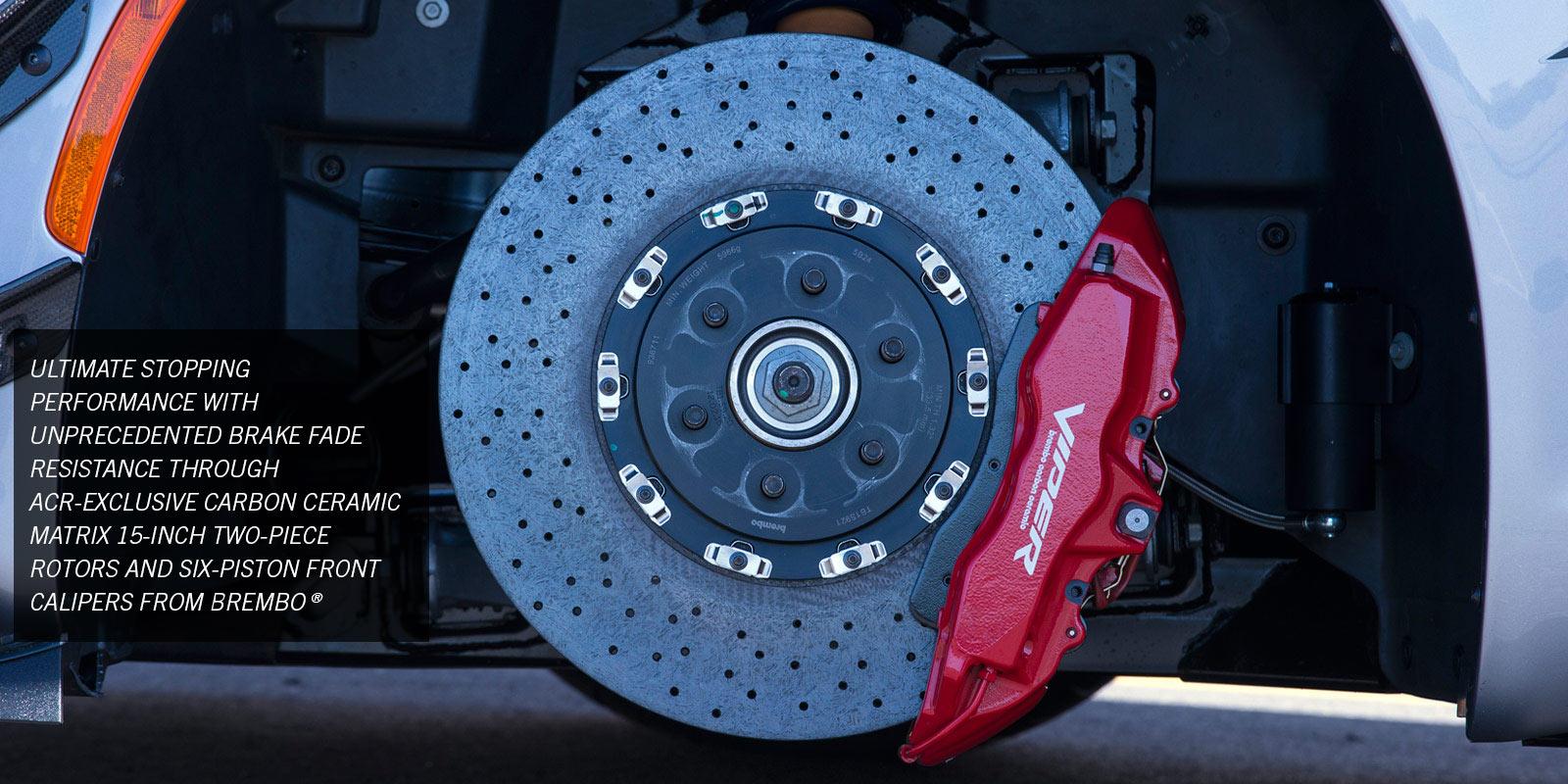 2016 Dodge Viper ACR - Brembo