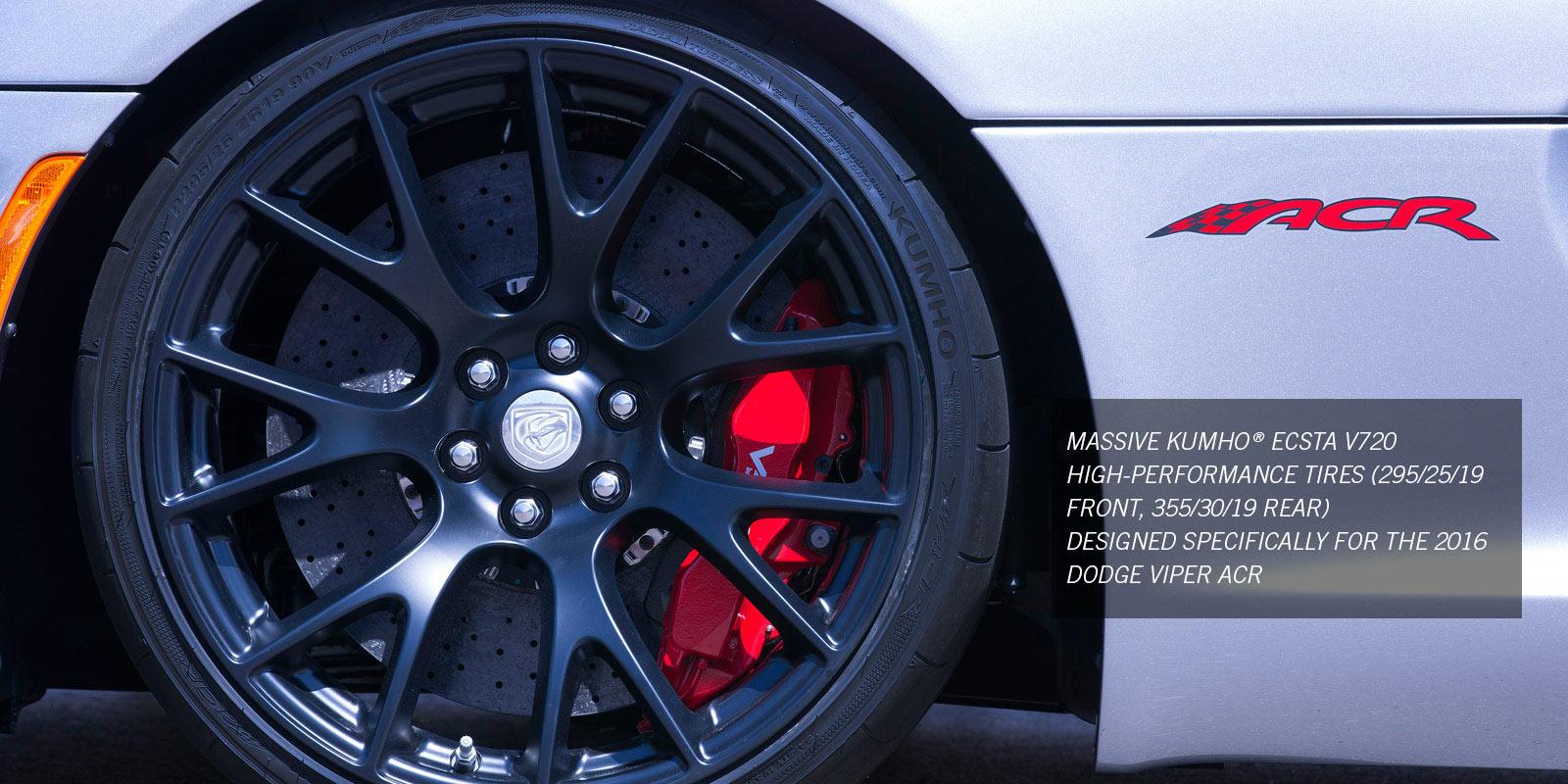 2016 Dodge Viper ACR - Kumho