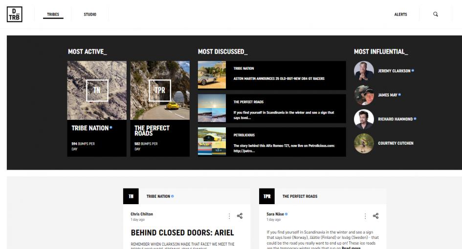 DriveTrive - homepage