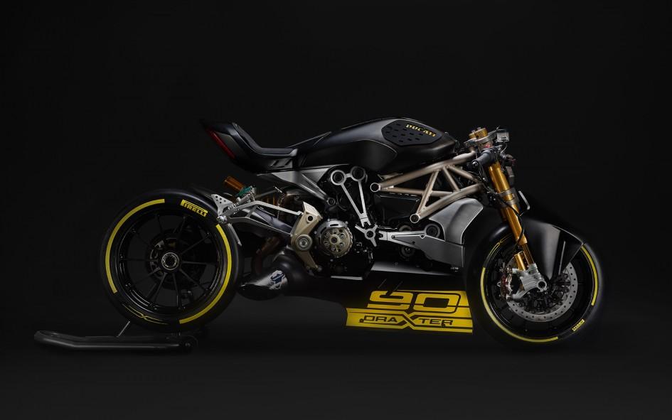 Ducati DraXter - 2016 - profil / side-face