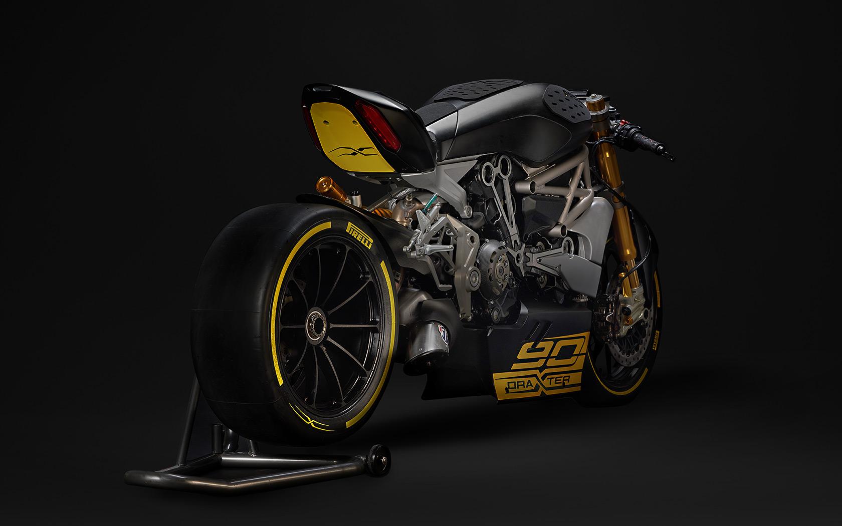 Ducati DraXter - 2016 - arrière / rear