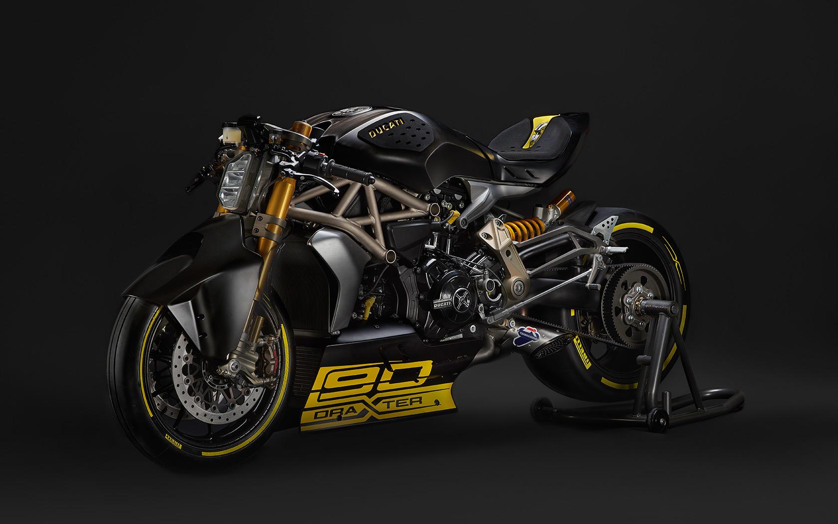 Ducati DraXter - 2016 - avant / front