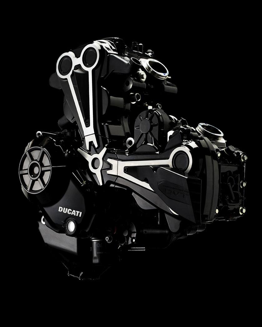 Ducati Testastretta - moteur / engine
