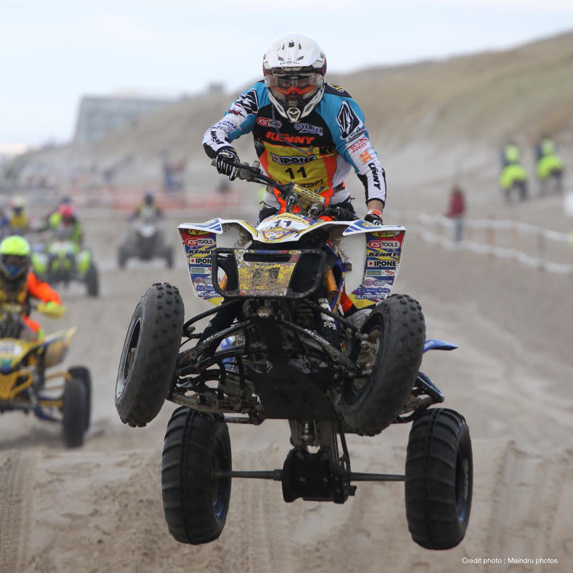 Enduropale du Touquet - 2015 - quad jump - photo Maindru