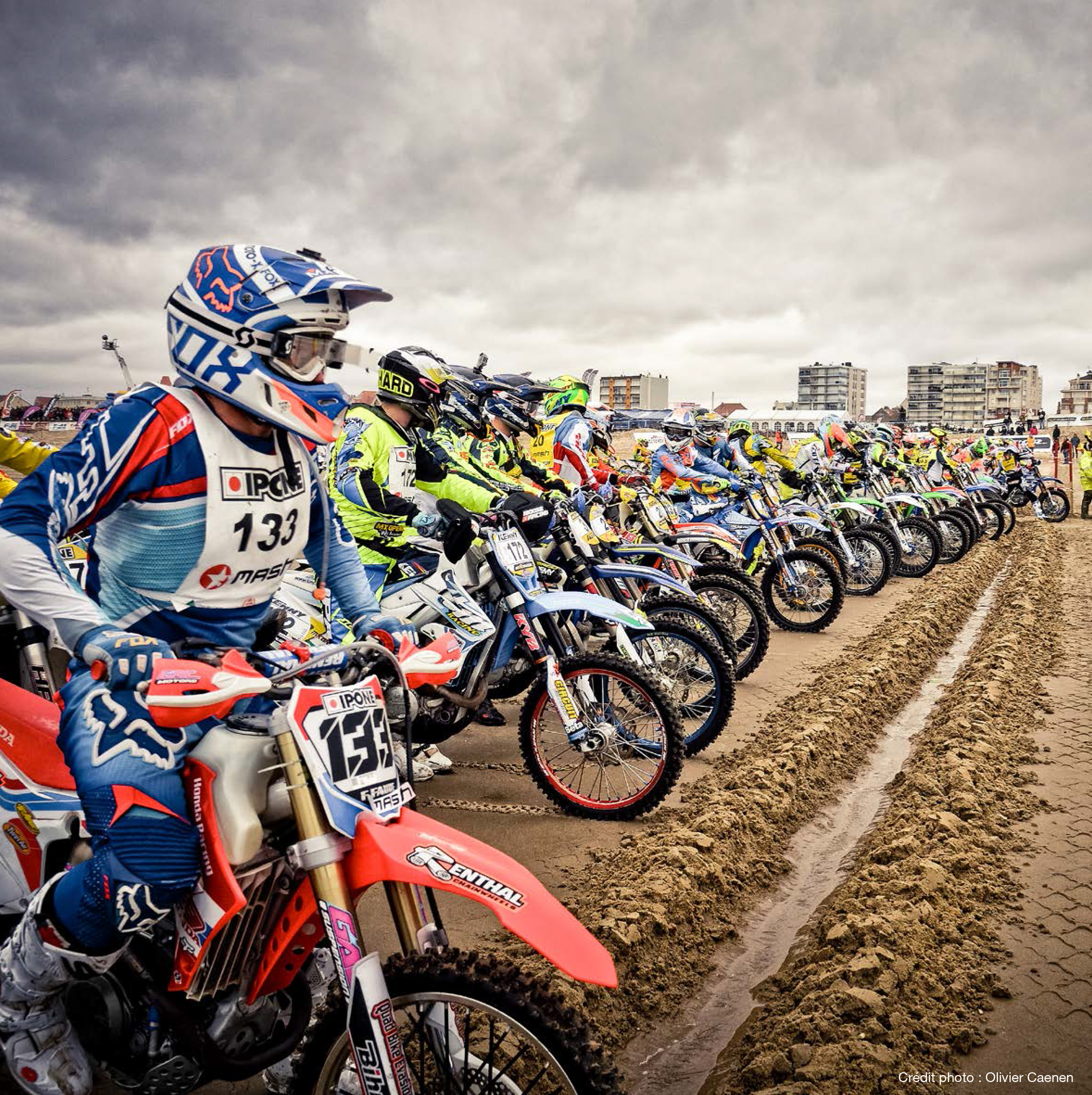 Enduropale du Touquet - 2015 - grid sand start - photo Olivier Caenen