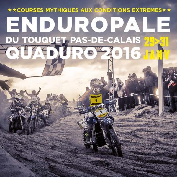 Enduropale du Touquet 2016 - poster