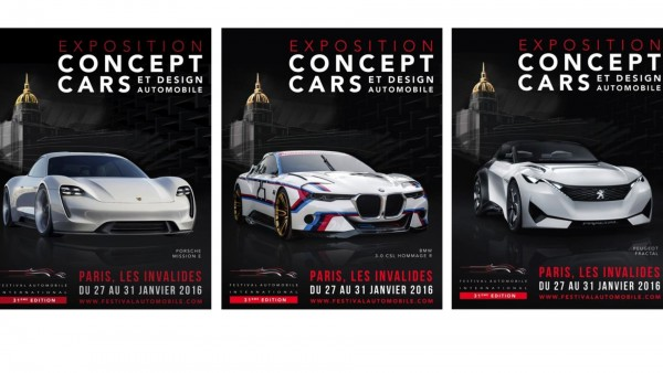 FESTIVAL AUTOMOBILE INTERNATIONAL - poster 2016