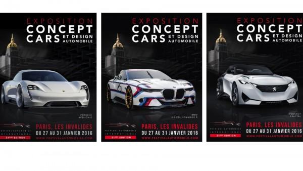 FESTIVAL AUTOMOBILE INTERNATIONAL - poster 2016