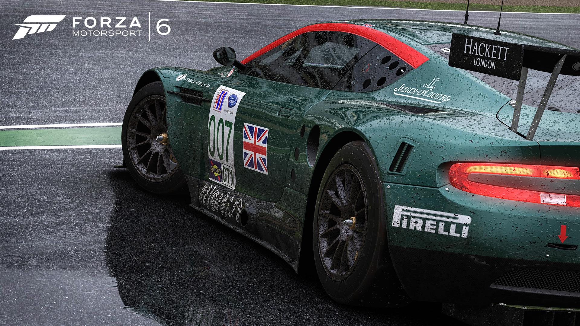 Forza Motorsport 6 - Aston Martin race car