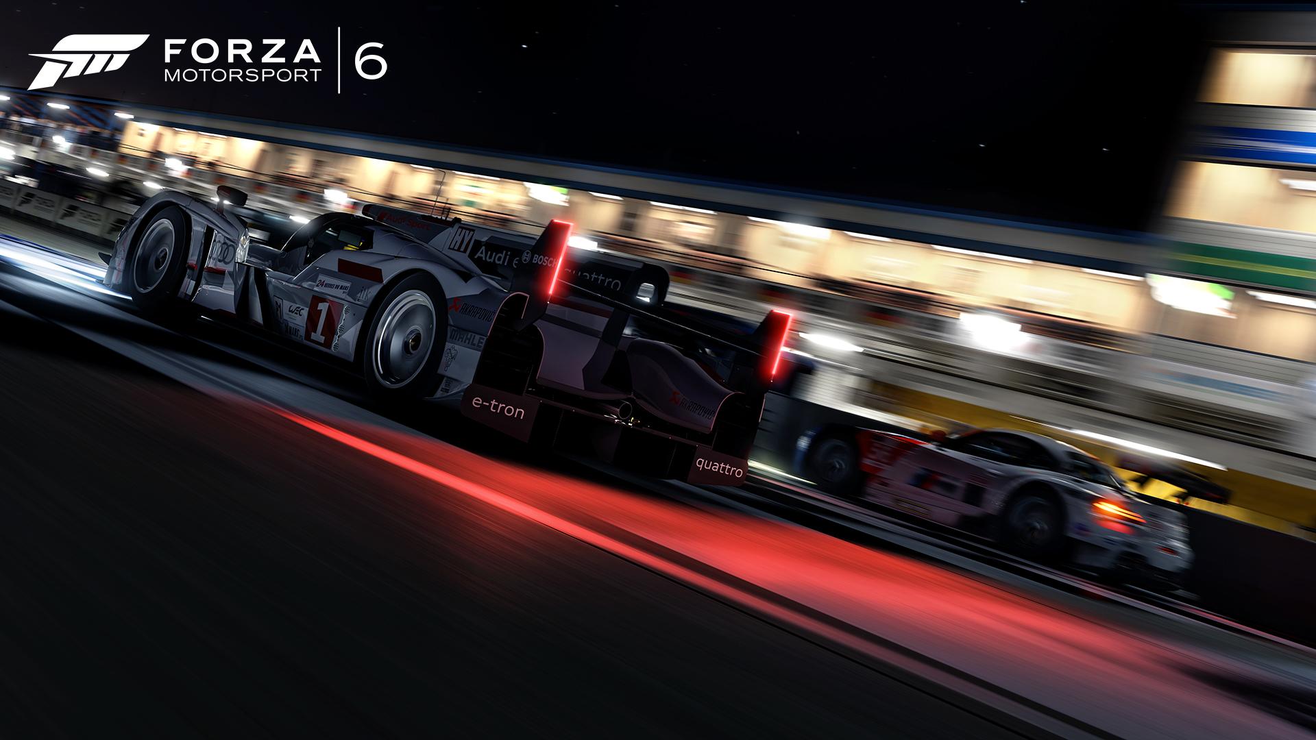 Forza Motorsport 6 - Audi R18 - night