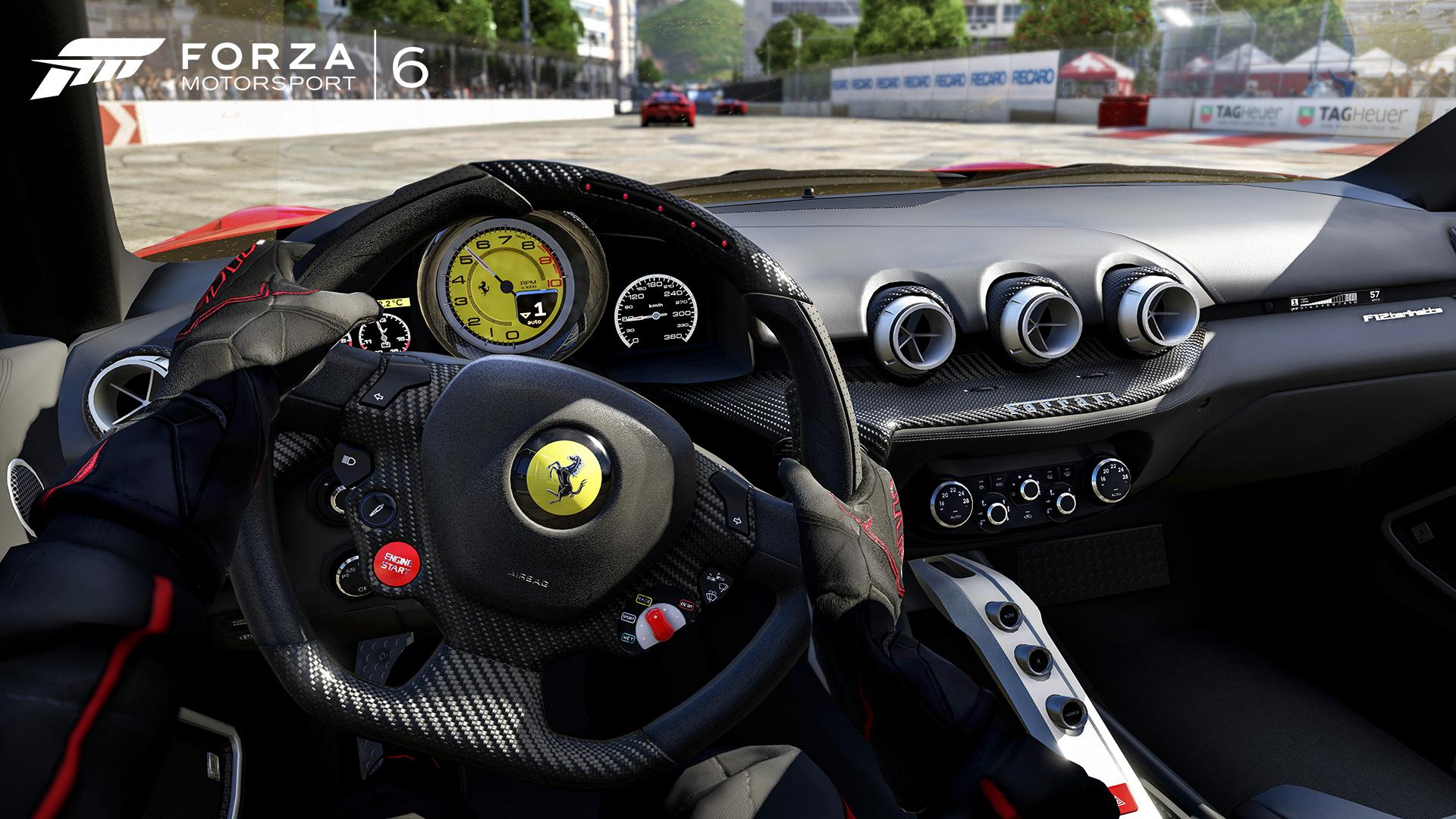 Forza Motorsport 6 - Ferrari onboard