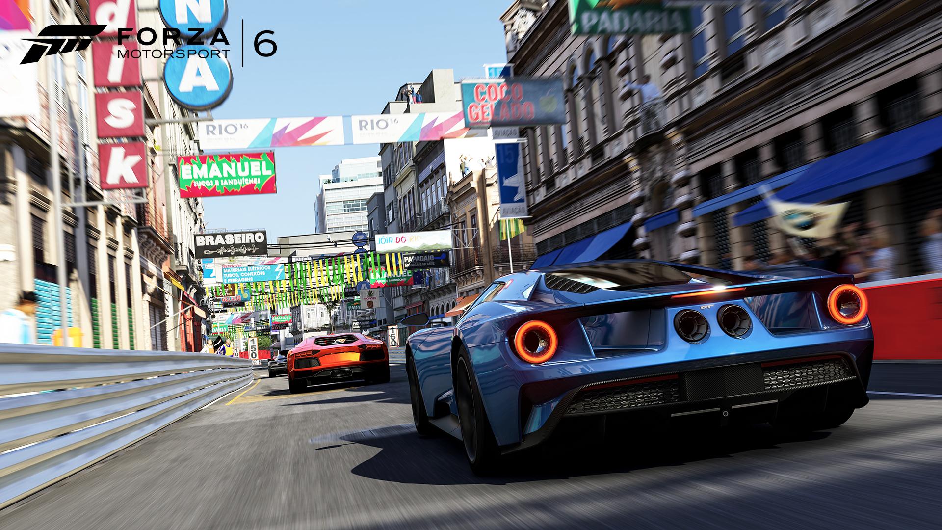 Forza Motorsport 6 - location Rio