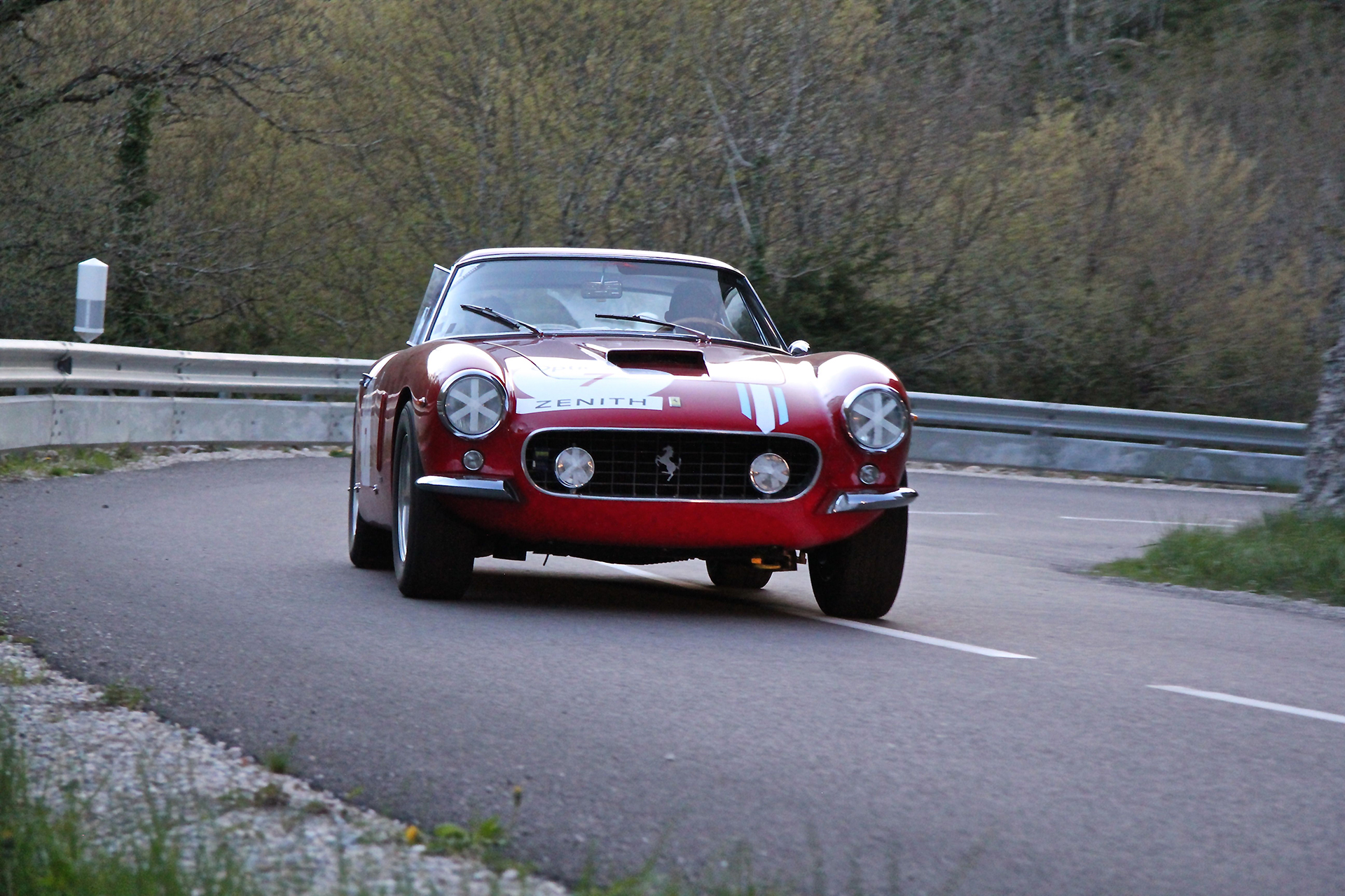Ferrari 250GT Direction Beaune Tour Auto 2016 - photo Ludo Ferrari