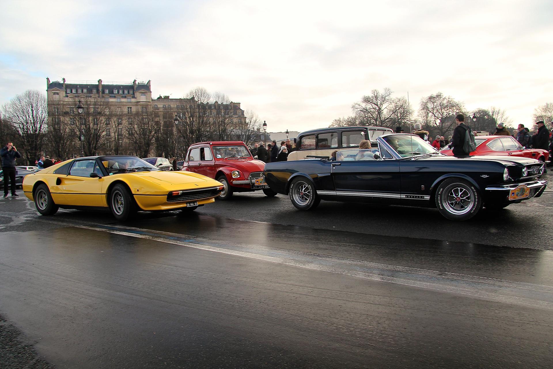 Quelques photos de la Traversée de Paris en anciennes hivernale 2017