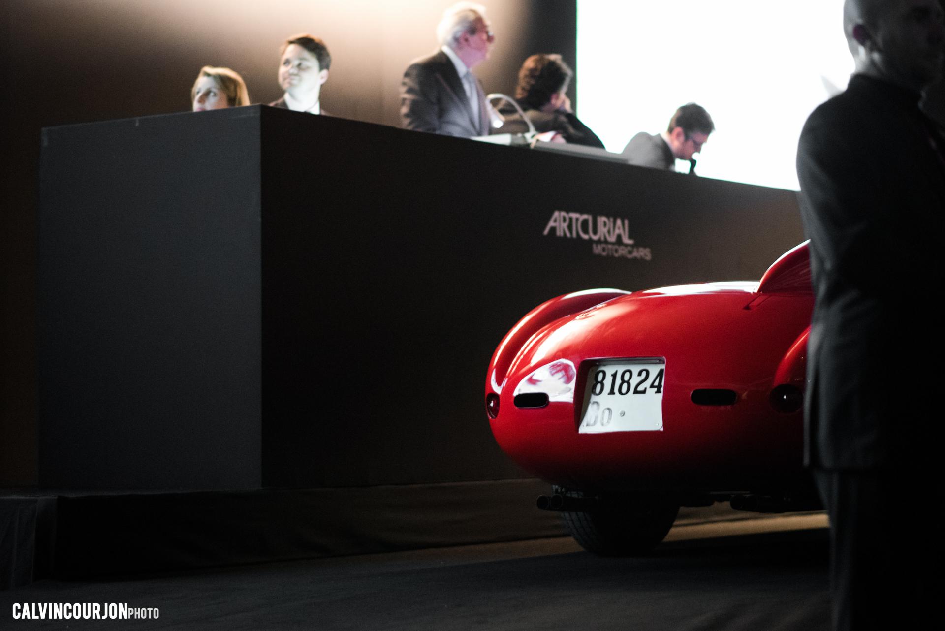 Ferrari 335 S - Artcurial 2016 - Calvin Courjon Photographie