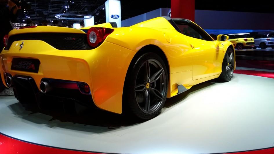 Ferrari 458 Speciale A - Paris 2014 - DESIGNMOTEUR