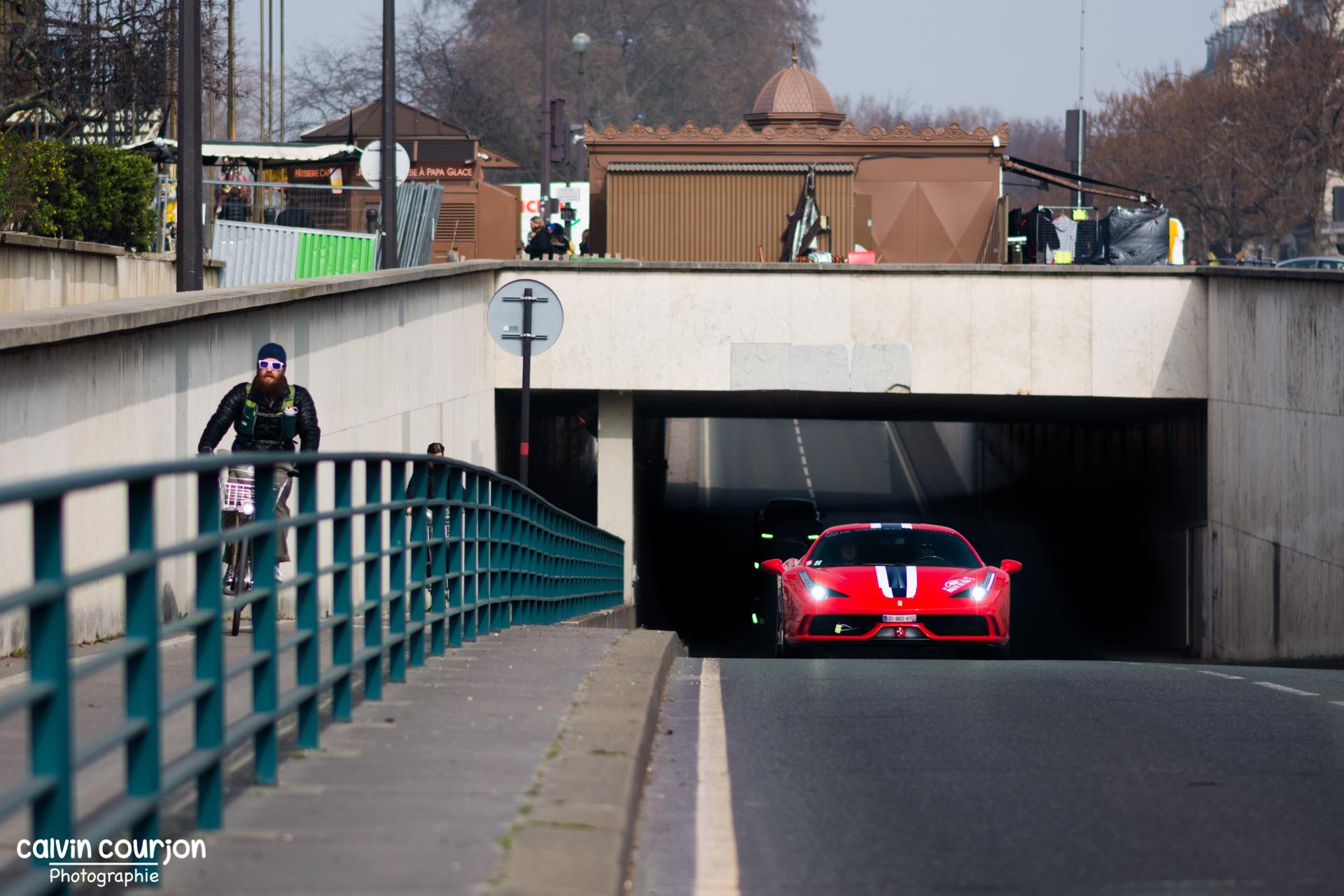 Ferrari 458 Speciale - Rallye Paris 2015 - Calvin Courjon Photographie