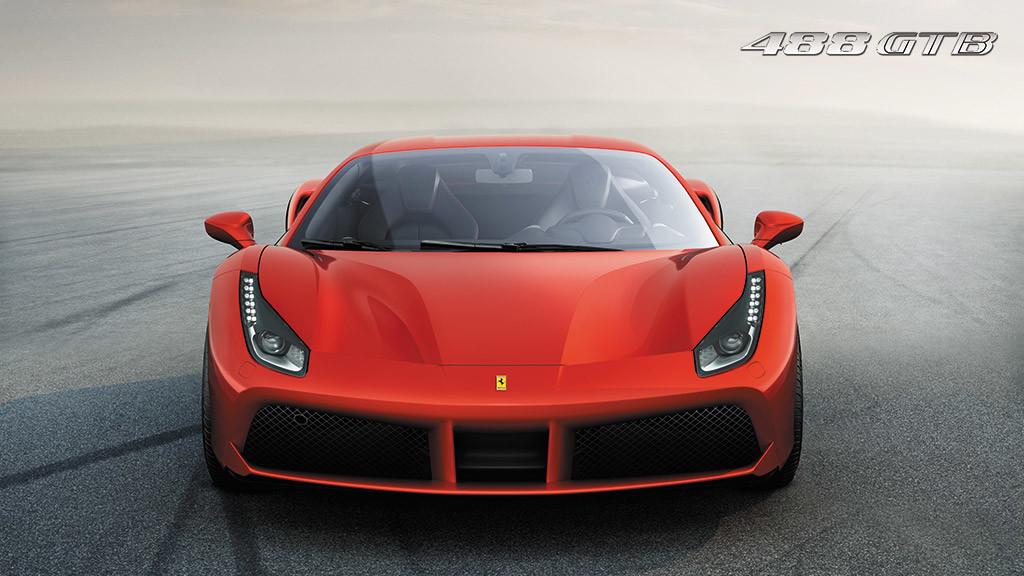 Ferrari 488 GTB - face avant