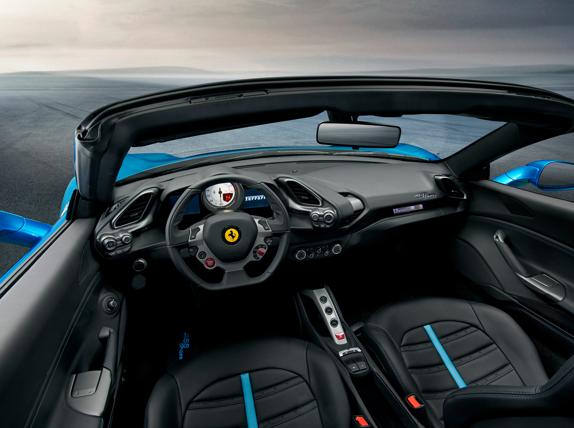 Ferrari 488 Spider - interior / interieur