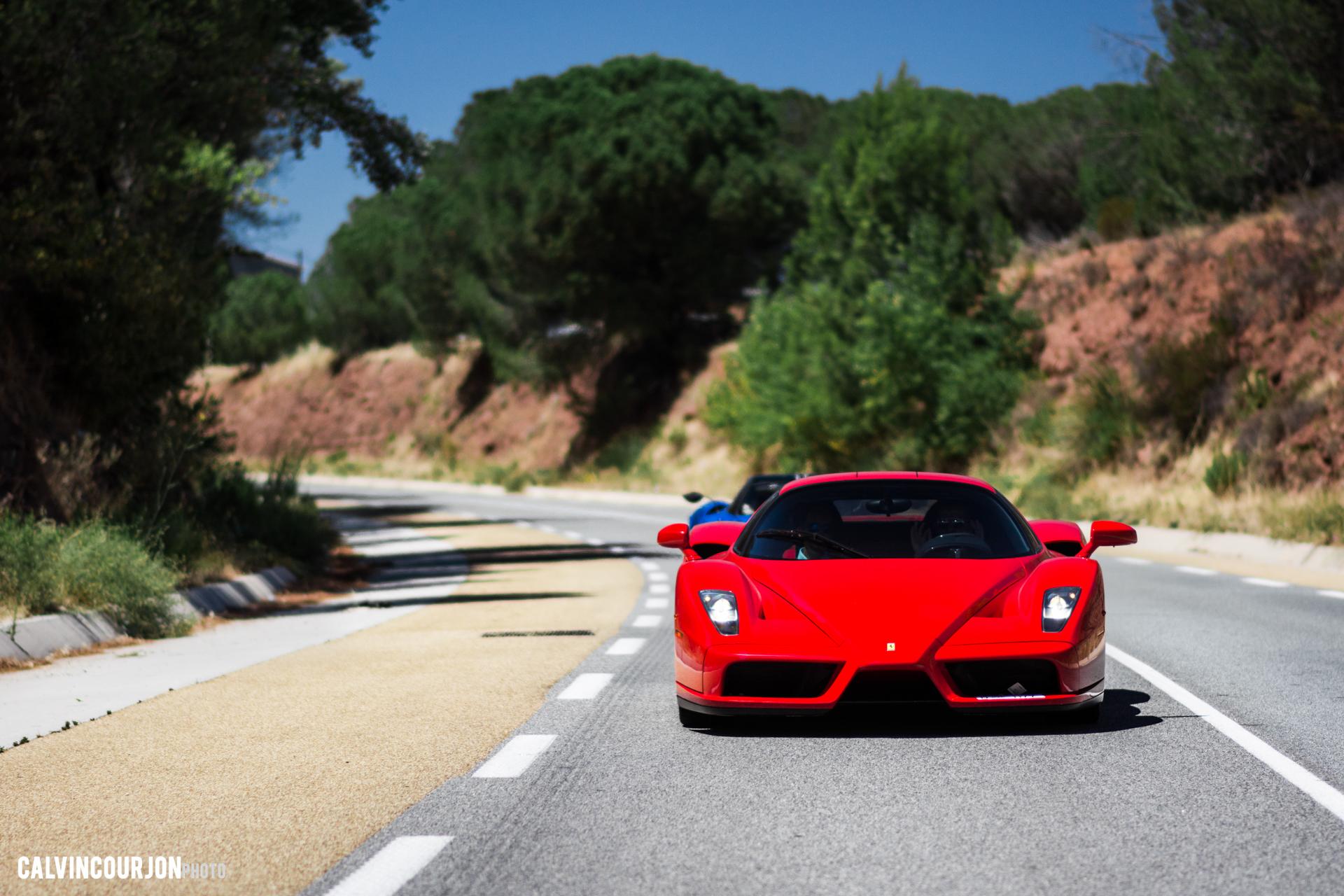 Ferrari Enzo - face avant - Cote dAzur - 2015 - Calvin Courjon