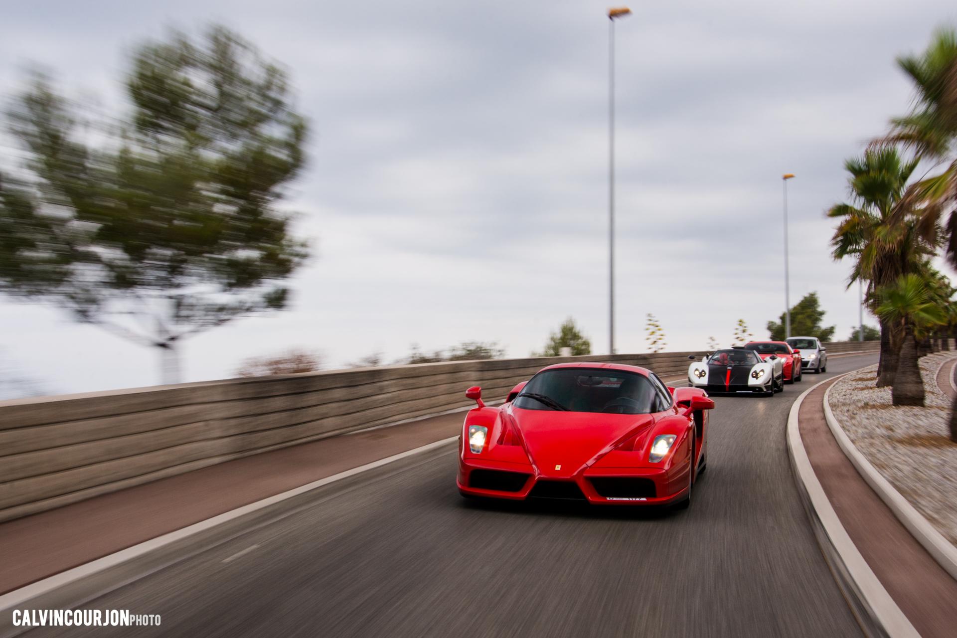 Ferrari Enzo - road-trip - Cote dAzur - 2015 - Calvin Courjon
