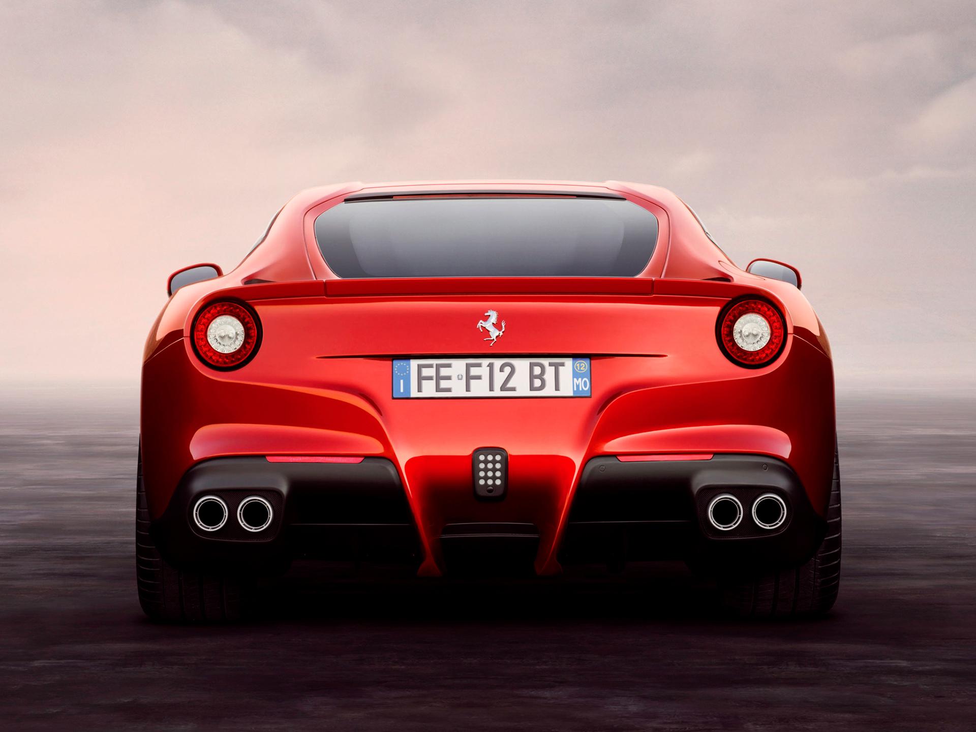 Ferrari F12berlinetta - arrière / rear