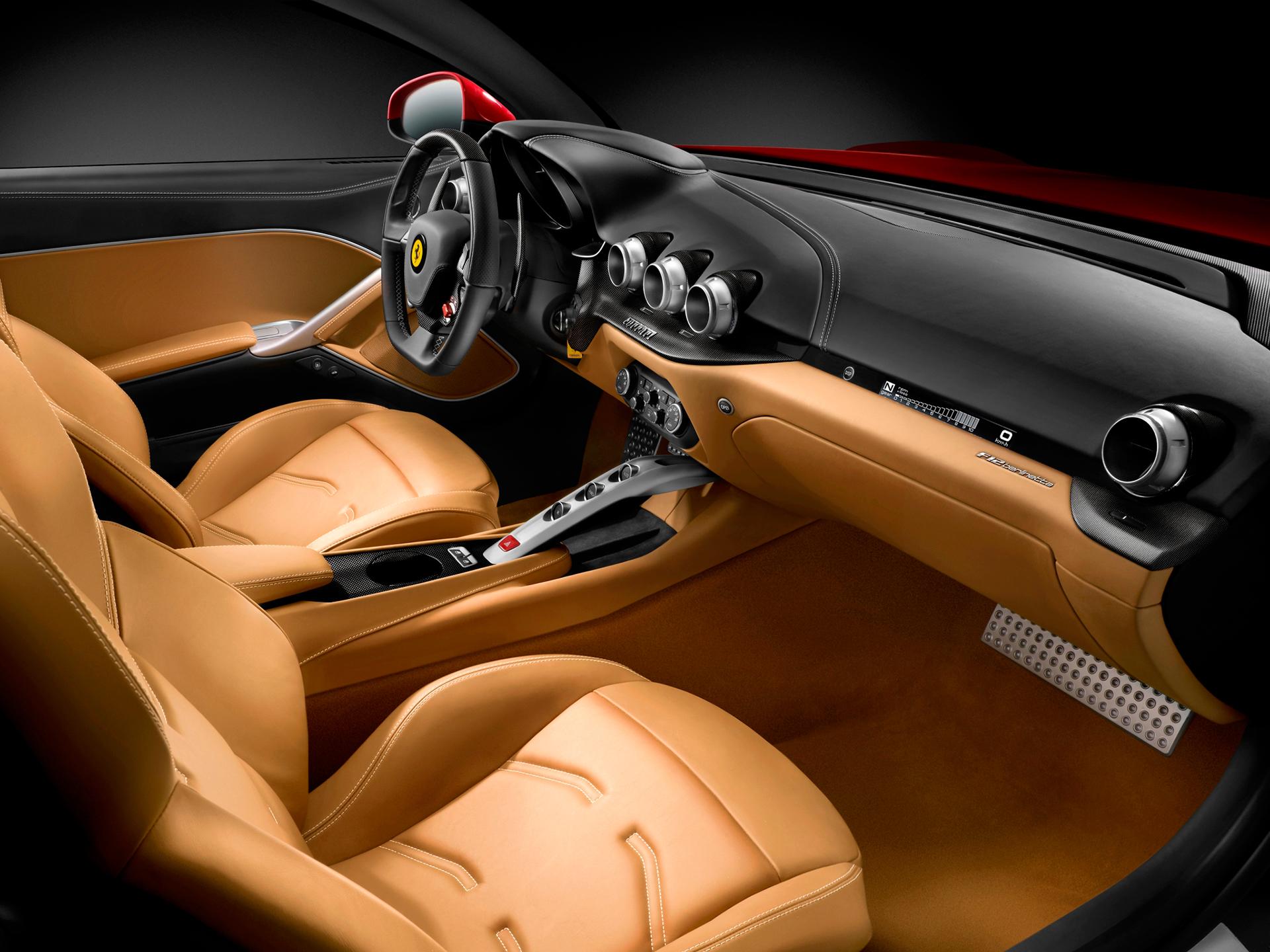 Ferrari F12berlinetta - intérieur / interior