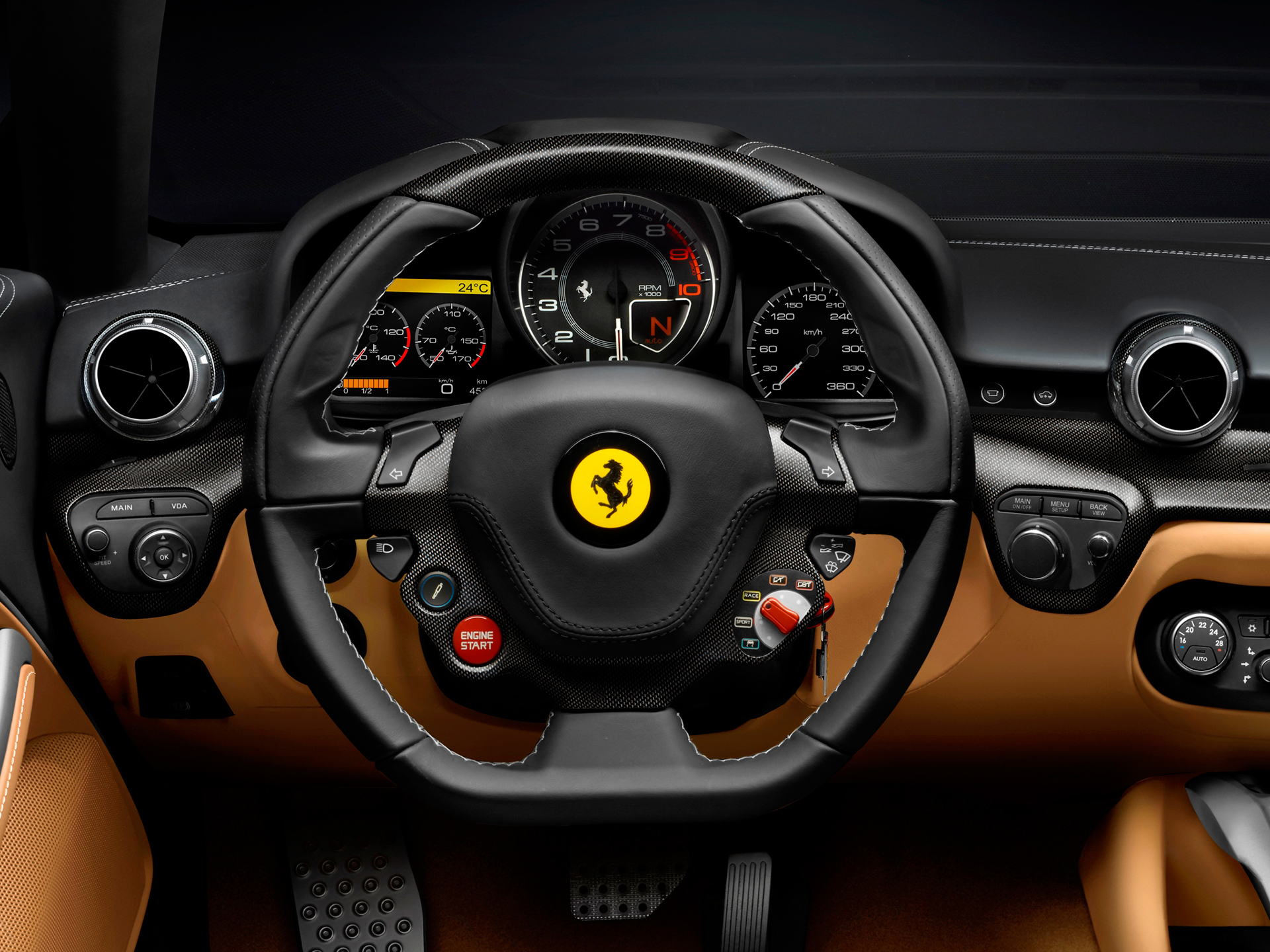 Ferrari F12berlinetta - volant / racing wheel