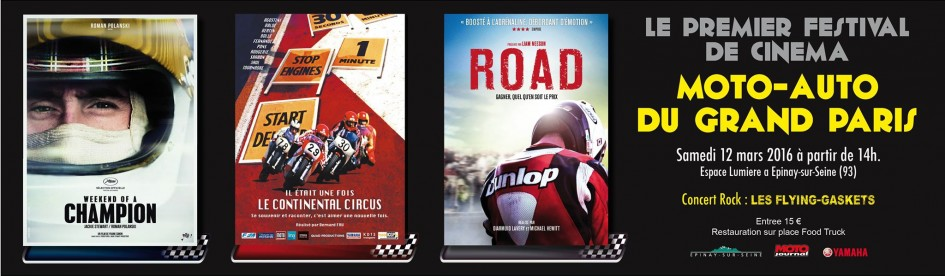 Festival Cinema Moto Auto 2016 du Grand Paris - cover