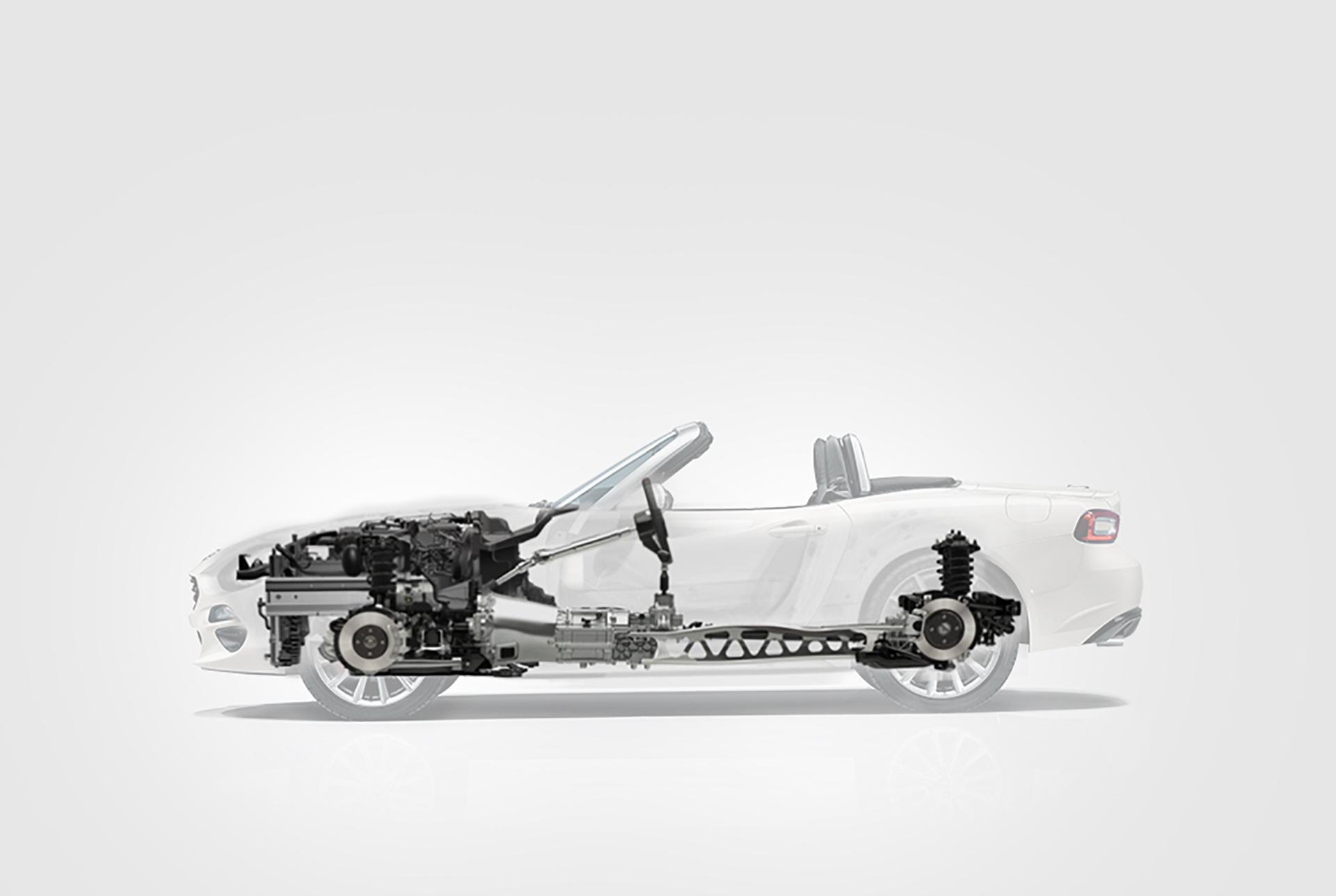 Fiat 124 Spider - 2016 - meccanica