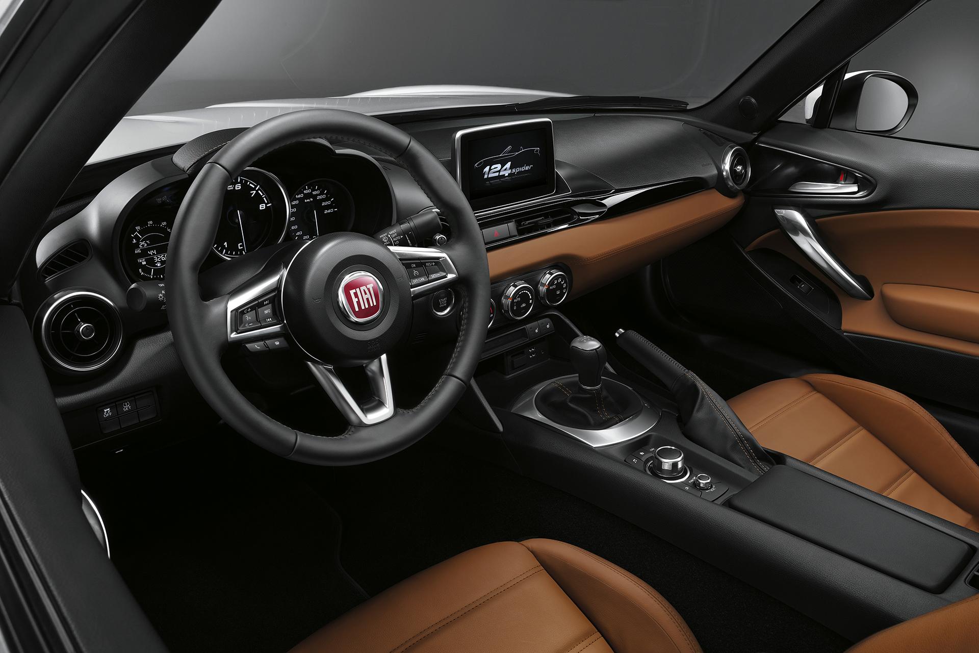 Fiat 124 Spider 2016 - intérieur / interior